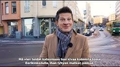 3H 72 m2 Eerikinkatu 22, Kamppi Helsinki. Myydyt asunnot. Kiinteistönvälitys.