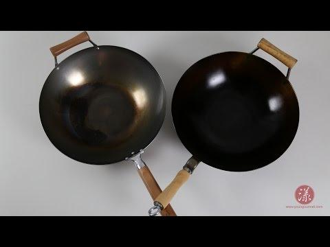 碳钢炒菜锅中式传统开锅法 Traditional Chinese Carbon Steel Wok Seasoning  |【漾漾美味】第3集