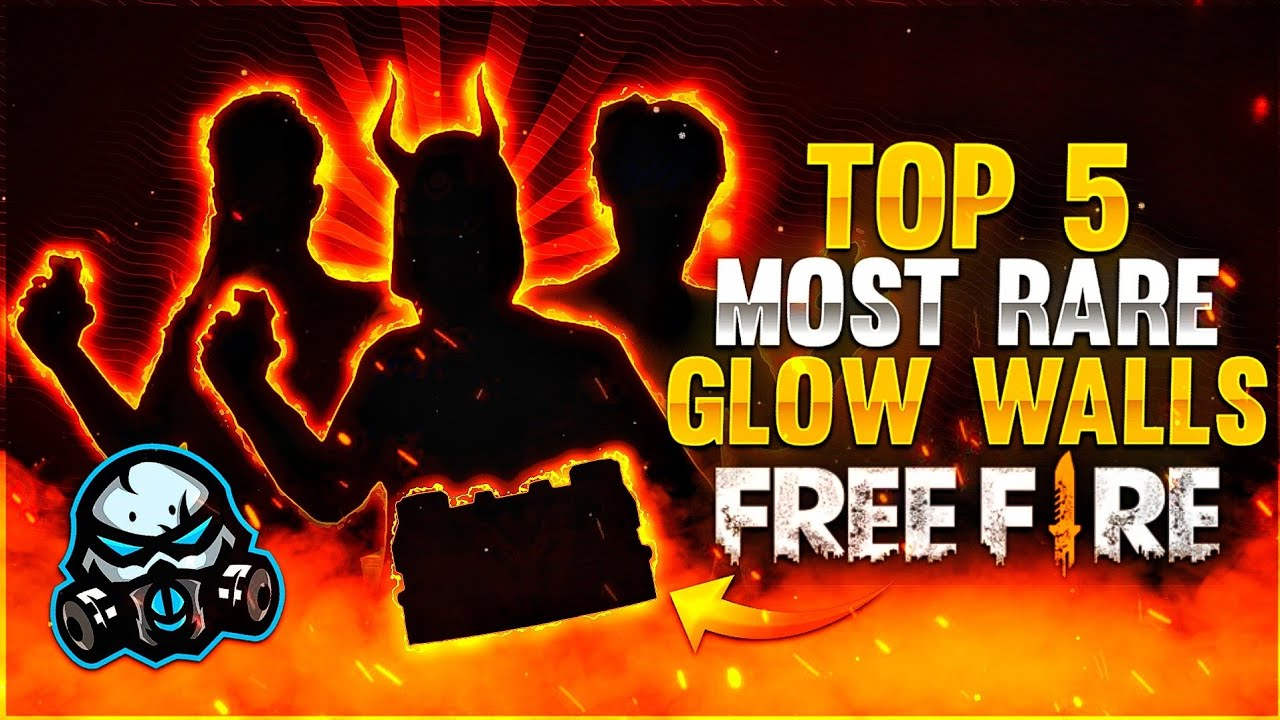 TOP 5 MOST RARE GLOO WALL SKINS 🔥 - GARENA FREE FIRE ❤️