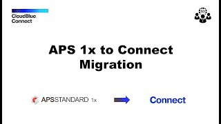 Application Packaging Standard (APS) 1.2 to CloudBlue Connect Migration Framework