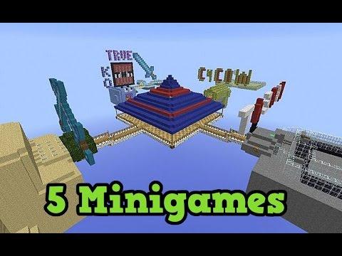 MiniGame Server On Minecraft PS - Minecraft ps4 minispiele