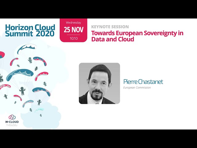Opening Session DAY 1: Welcome & Keynote Session Pierre Chastanet, Head of Unit Cloud & Software, EC