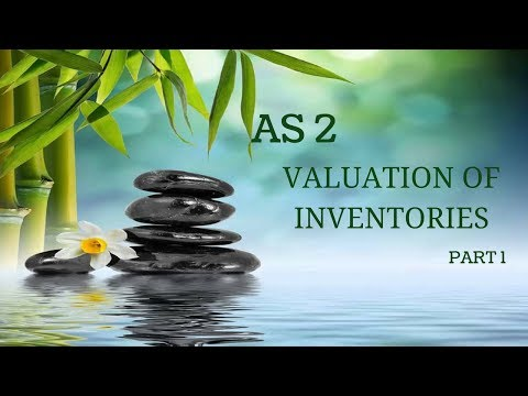 AS 2 Valuation Of Inventories Part 1 By CA Ashok Kumar C