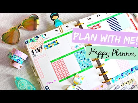 Plan With Me! The Happy Planner by Me & My Big Ideas | Belinda Selene