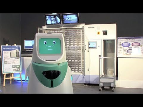 Panasonic Medication Dispensing And Delivery Robots