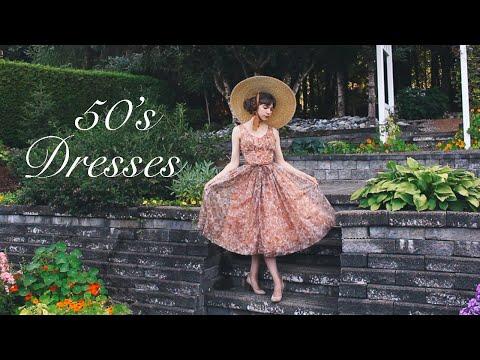 VINTAGE 1950's DRESSES: (Part 2) Lookbook
