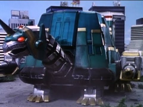 Mighty Morphin Power Rangers - Tor the Shuttlezord | Season 2