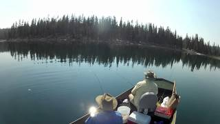 Medicine Lake Fishing Trip 8-11-12