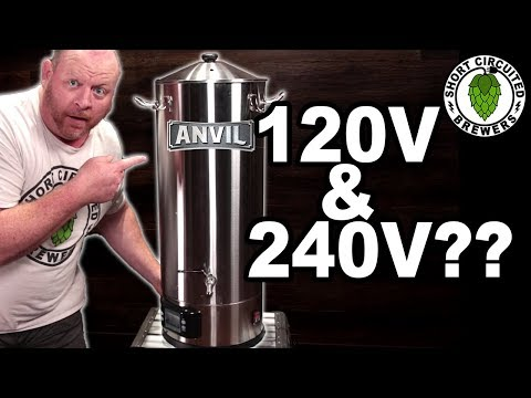 Anvil Foundry All Grain Brewing System Unboxing
