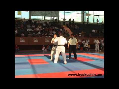European Open Championship In Armenia, Komanov Aleksandr Vs Kosumov Suliman