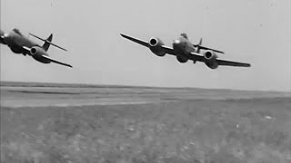 1950s Post War Jet Engine Airplane - The Wonder Jet - 1950 - CharlieDeanArchives / Archival Footage