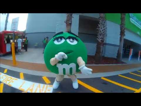 Brent - Green M&M - Grand Opening