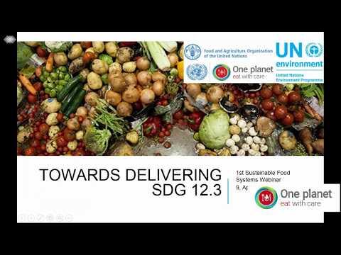 Global food waste webinar 09 04 2018