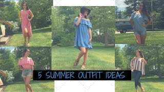 5 CUTE OUTFIT IDEAS FOR SUMMER!