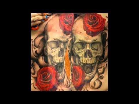 Татуировки на боку (ребрах).   [Bony X].