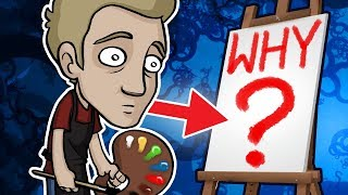 What's the POINT of PAINTING? - Tough Art Questions Answered...