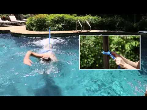 Home Swimmer Stationary Pool Swimming Trainer Youtube