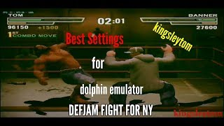 Dolphin emulator best setting for android