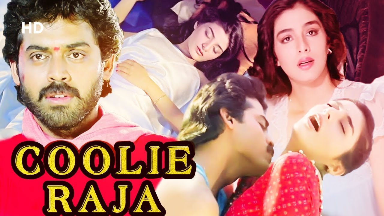 Download Coolie Raja - Full Movie   Latest Hindi Dubbed Movie   Venkatesh   Tabu   Action Movie