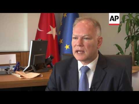 Envoy: Turkey hasn't given up on EU migrant deal