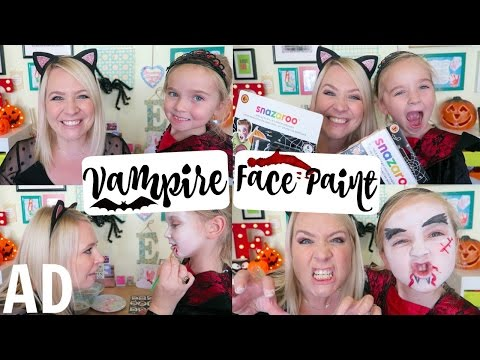 EASY VAMPIRE KIDS MAKEUP TUTORIAL