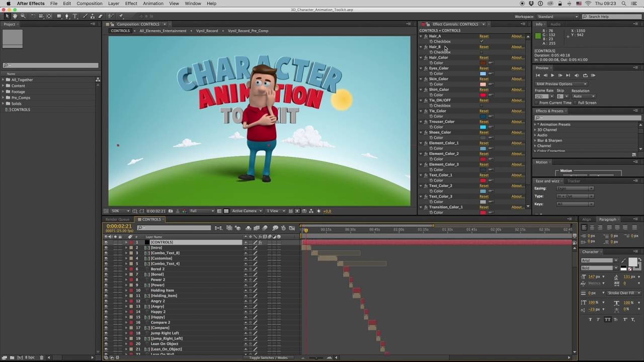 Character Design Animation Toolkit : Premiumilk tutorial d character animation toolkit