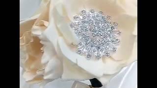 Букет невесты цветы из фоамирана