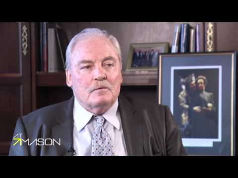 At Mason:  with Stacy Keach