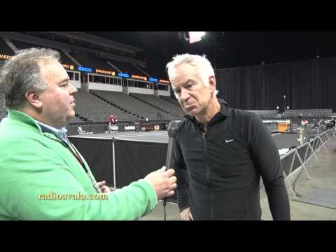 John McEnroe about Novak Djokovic and tennis in general