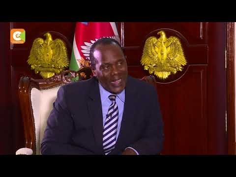 Salva Kiir: I'm very sorry for the young lady (Monica Kimani) who lost her life. pt.2