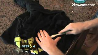 How Get Oil Stains Out Clothing Carpet Fabric