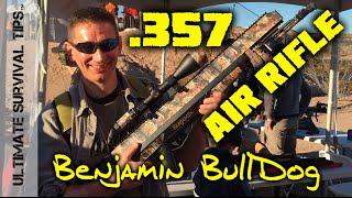 Wow! Benjamin .357 Bulldog AIR Rifle? Hunt Big Game - SHOT Show Range Day
