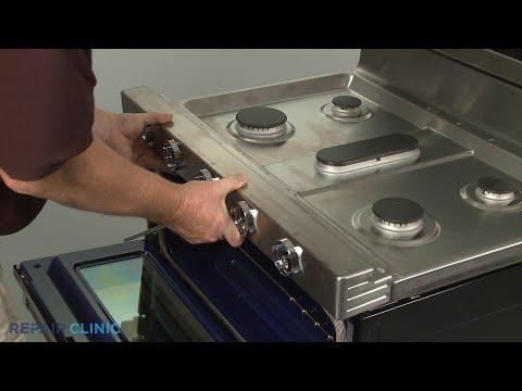 Manifold Panel - Kitchenaid Double Oven Gas Range (Model #KFGD500ESS04)