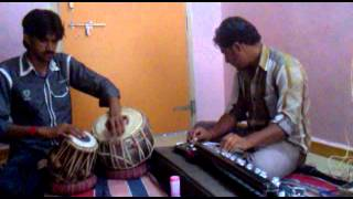 Hitesh vyas(tabla)master shabir khan (benjo)
