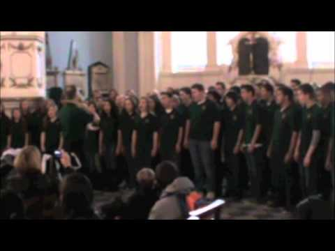 SRVHS Choir - God Bless America at St Paul