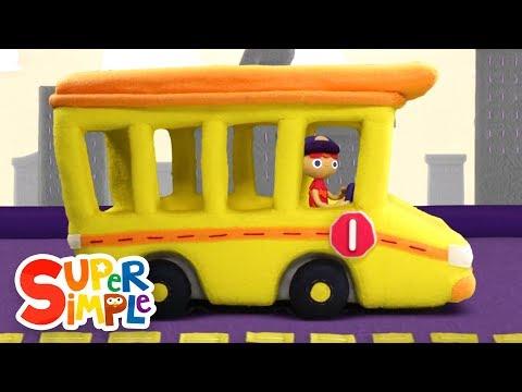 10 Little Buses | Kids Songs | Super Simple Songs
