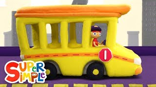 10 Little Buses | Kids Songs | Super Simple Songs