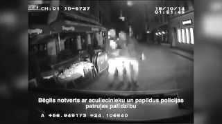 Pie agresīva jaunieša, kurš uzbruka policijas darbiniekam, atrod augu maisījumu iepakojumus