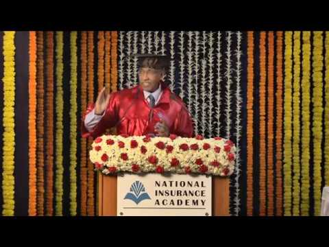 NIA PGDM Convocation 2014-2016 & 2015-2017 Chief Guest Address by  Shri T S Vijayan (Sept 2017)