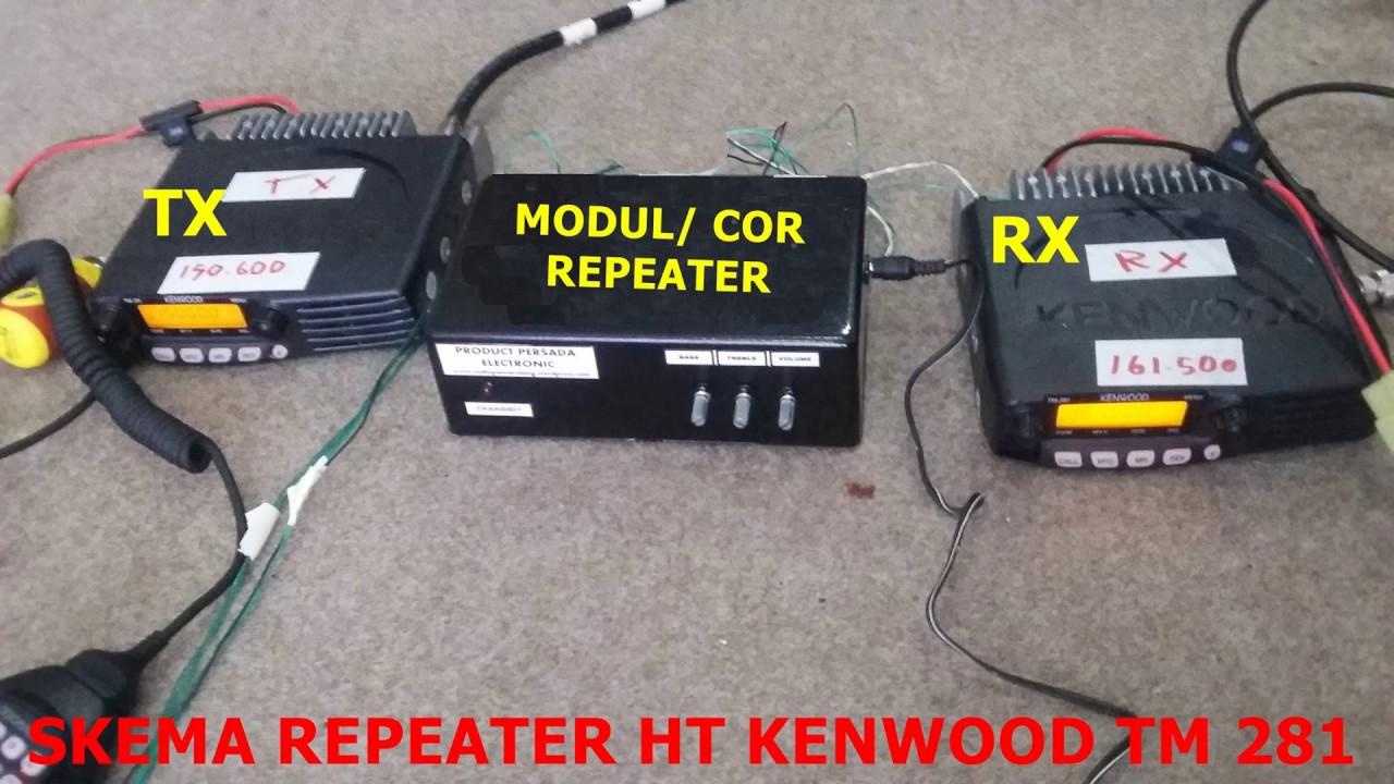Cor Repeater Icom 2100 2200 2300 Youtube Rig 2300h