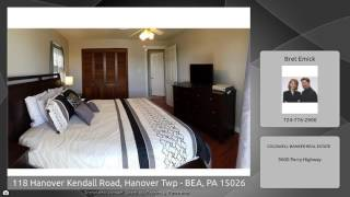 118 Hanover Kendall Road, Hanover Twp - BEA, PA 15026