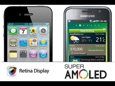 [База знаний] Super AMOLED и Retina Display: В чем разница?