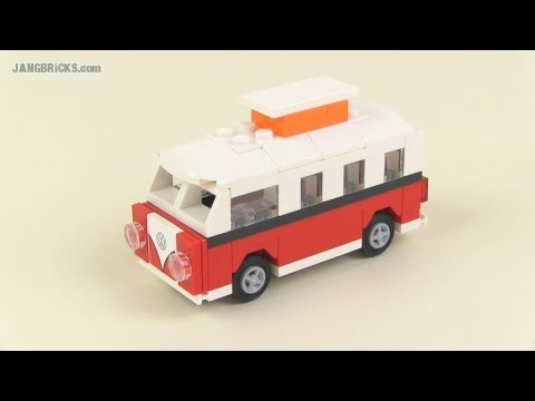 lego creator set 40079 mini vw t1 camper van polybag. Black Bedroom Furniture Sets. Home Design Ideas