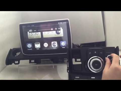 car dvd player for mazda 6 2016 android 4 4 youtube. Black Bedroom Furniture Sets. Home Design Ideas