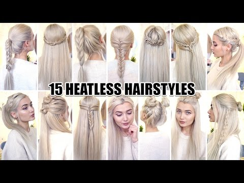 15 Braided Back to School Heatless Hairstyles