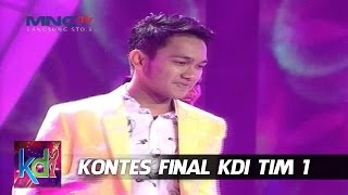 "Yogie "" Cinta Sabun Mandi "" Bukittinggi - Kontes Final KDI 2015 (21/5)"