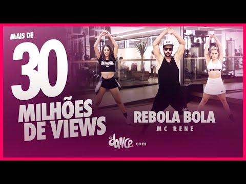 Rebola bola - Mc Rene - Coreografia  FitDance - 4k