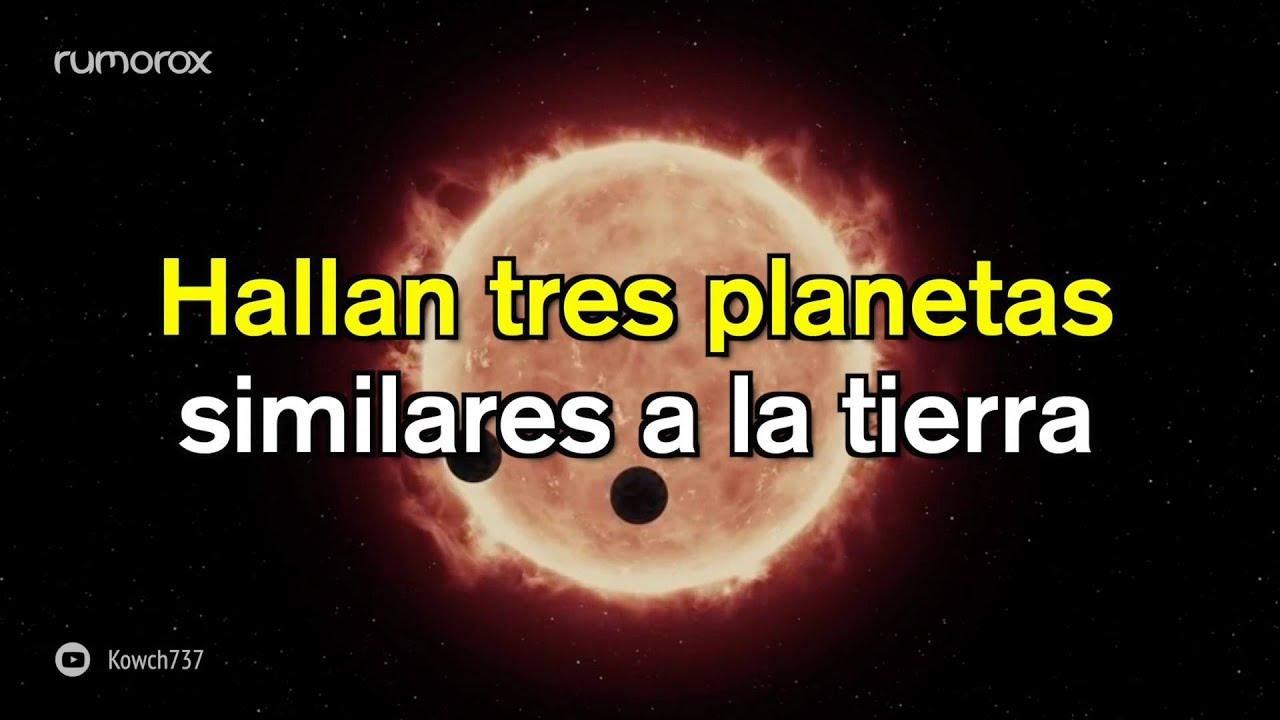 Descubren 3 planetas similares a la tierra (TRAPPIST-1)
