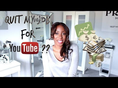 DID I QUIT MY JOB FOR YOUTUBE?! | Law of Attraction for Money - How I Tripled My Income - GIVEAWAY!