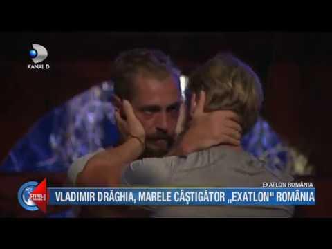 "Stirile Kanal D (24.05.2018) - Vladimir Draghia, marele castigator ""EXATLON""! Editie COMPLETA"